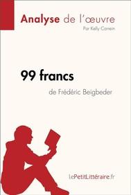 99 francs de Frédéric Beigbeder (Analyse de l'oeuvre) - copertina