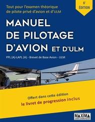 Le Manuel de Pilotage d'Avion et d'ULM - 6e édition - copertina
