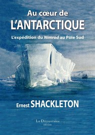 Au cœur de l'Antarctique - copertina