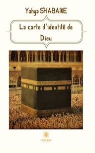 La carte d'identité de Dieu - copertina