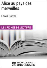 Alice au pays des merveilles de Lewis Carroll - copertina