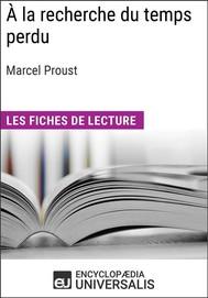 À la recherche du temps perdu de Marcel Proust - copertina
