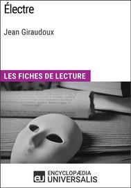 Électre de Jean Giraudoux - copertina