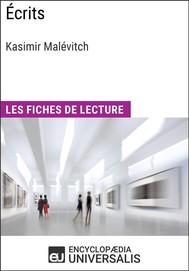 Écrits de Kasimir Malévitch - copertina