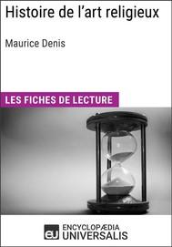 Histoire de l'art religieux de Maurice Denis - copertina