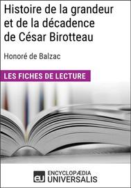 Histoire de la grandeur et de la décadence de César Birotteau d'Honoré de Balzac - copertina