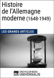 Histoire de l'Allemagne moderne (1648-1949) - copertina