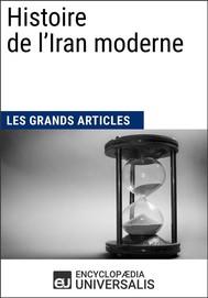 Histoire de l'Iran moderne - copertina