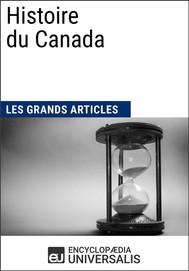 Histoire du Canada - copertina