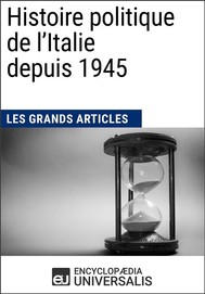 Histoire politique de l'Italie depuis 1945 - copertina