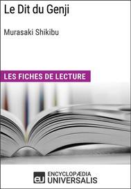 Le Dit du Genji de Murasaki Shikibu - copertina