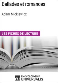 Ballades et romances d'Adam Mickiewicz - copertina