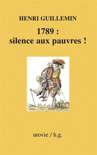 1789 : silence aux pauvres ! - copertina