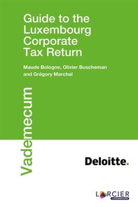 Guide to the Luxembourg Corporate Tax Return - Librerie.coop