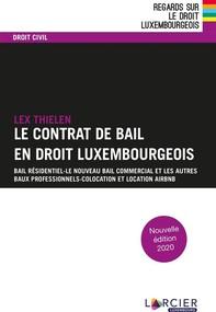 Le contrat de bail en droit luxembourgeois - Librerie.coop