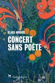 Concert sans poète - copertina