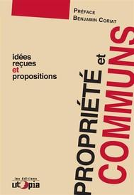 Propriété et communs - copertina