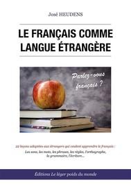 Le français comme langue étrangère - copertina