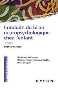 Conduite du bilan neuropsychologique chez l'enfant - copertina