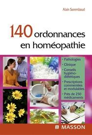 140 ordonnances en homéopathie - copertina