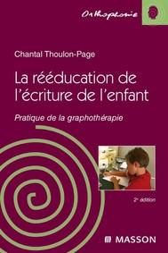 La rééducation de l'écriture de l'enfant - copertina