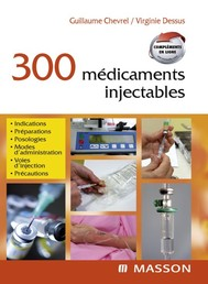300 médicaments injectables - copertina
