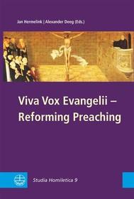 Viva Vox Evangelii - Reforming Preaching - copertina
