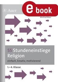 55 Stundeneinstiege Religion - copertina
