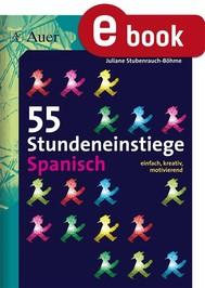 55 Stundeneinstiege Spanisch - copertina