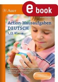 Action-Hausaufgaben Deutsch 1+2 - copertina