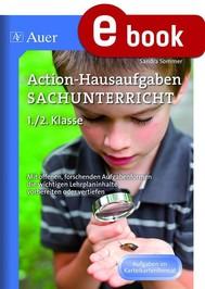 Action-Hausaufgaben Sachunterricht 1+2 - copertina