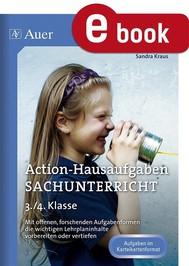 Action-Hausaufgaben Sachunterricht 3+4 - copertina
