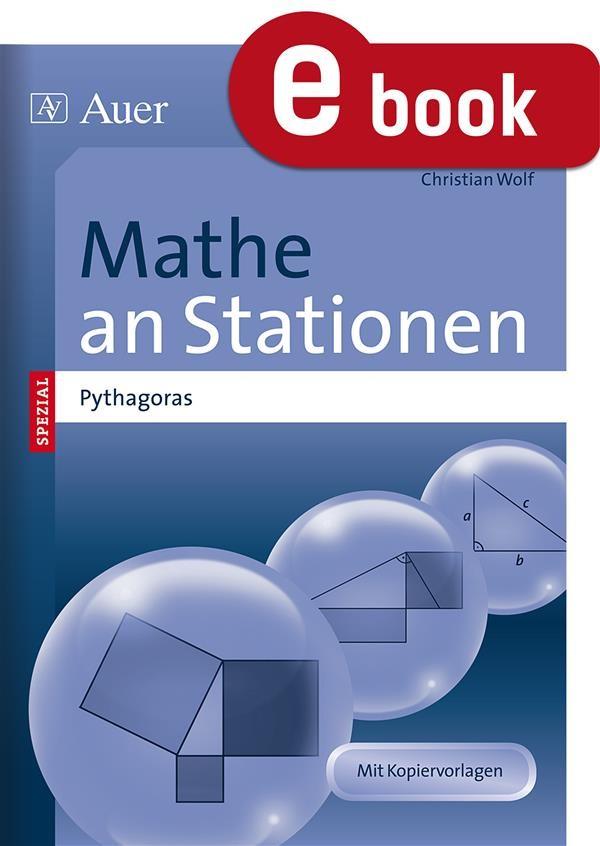 Mathe an Stationen Satz des Pythagoras, Christian Wolf | Ebook ...