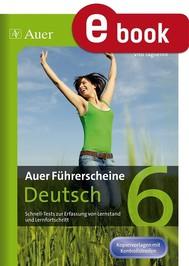 Auer Führerscheine Deutsch Klasse 6 - copertina