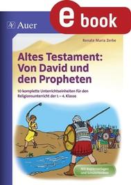 Altes Testament Von David und den Propheten - copertina