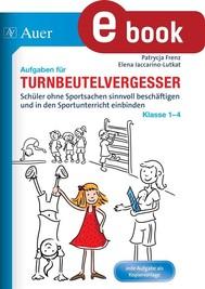 Aufgaben für Turnbeutelvergesser Klasse 1-4 - copertina