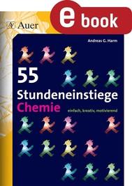 55 Stundeneinstiege Chemie - copertina