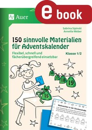 150 sinnvolle Materialien für Adventskalender 1-2 - copertina