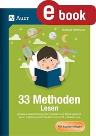 33 Methoden Lesen - copertina