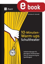 10-Minuten-Warm-ups Schultheater - copertina