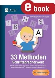 33 Methoden Schriftspracherwerb - copertina