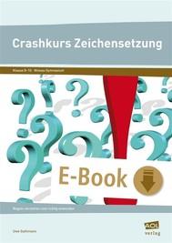 Crashkurs Zeichensetzung - copertina