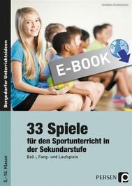 33 Sportspiele für die Sekundarstufe - copertina