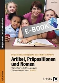 Artikel, Präpositionen & Nomen - Schule 3/4 - copertina