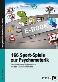 166 Sport-Spiele zur Psychomotorik - copertina