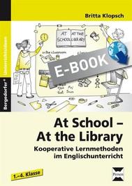 At School - At the Library - copertina