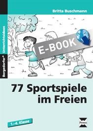 77 Sportspiele im Freien - copertina