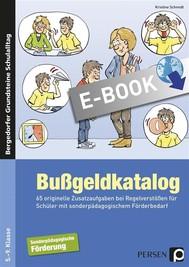 Bußgeldkatalog Sonderpädagogische Förderung - copertina