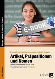 Artikel, Präpositionen & Nomen - Mein Zuhause 3/4 - copertina
