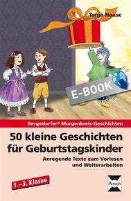 50 kleine Geschichten für Geburtstagskinder - copertina